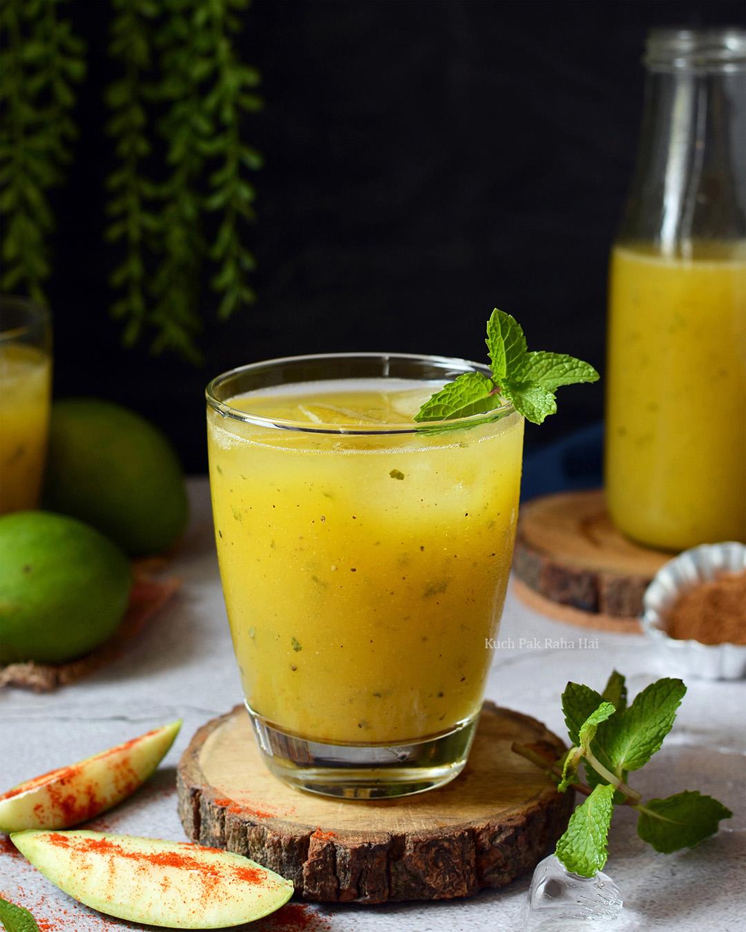 Aam Panna Raw Mango Panna Recipe