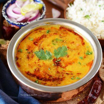 Dal Fry Dal Tadka Yellow Lentil Curry Recipe