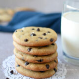 Eggless Choco Chip Cookies Recipe