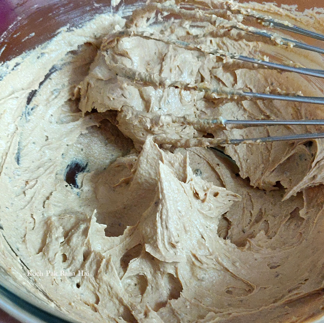 Whisked Butter & Sugar