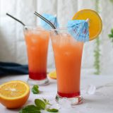 Rose Sunrise summer cooler recipe