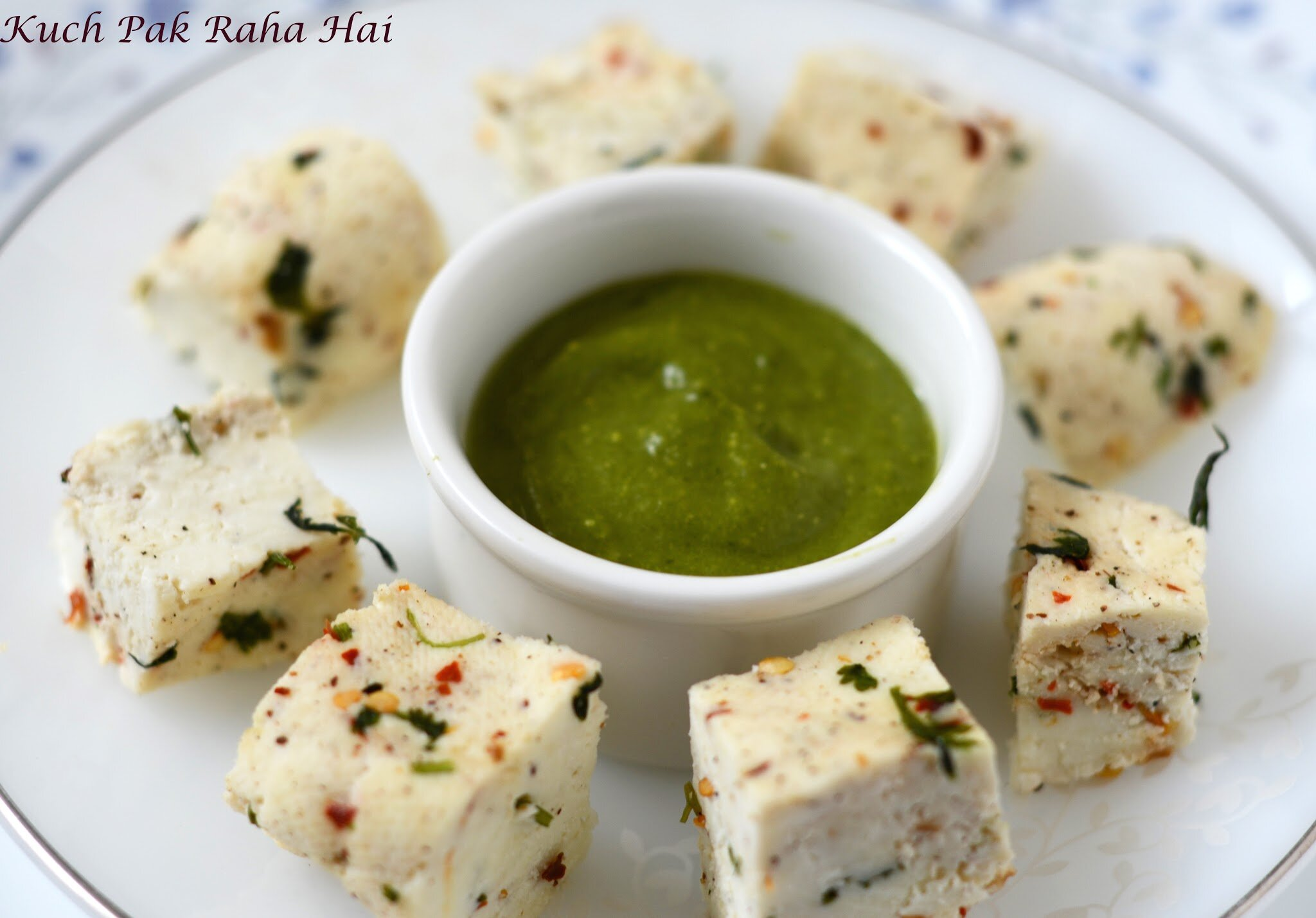 Herbed Spiced paneer with herbs and spices