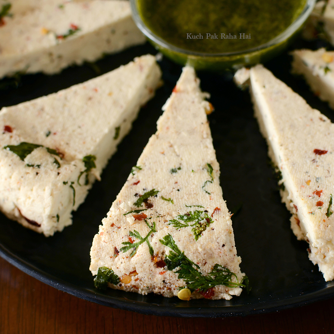 Herbed Paneer Homemade paneer with herbs & spices
