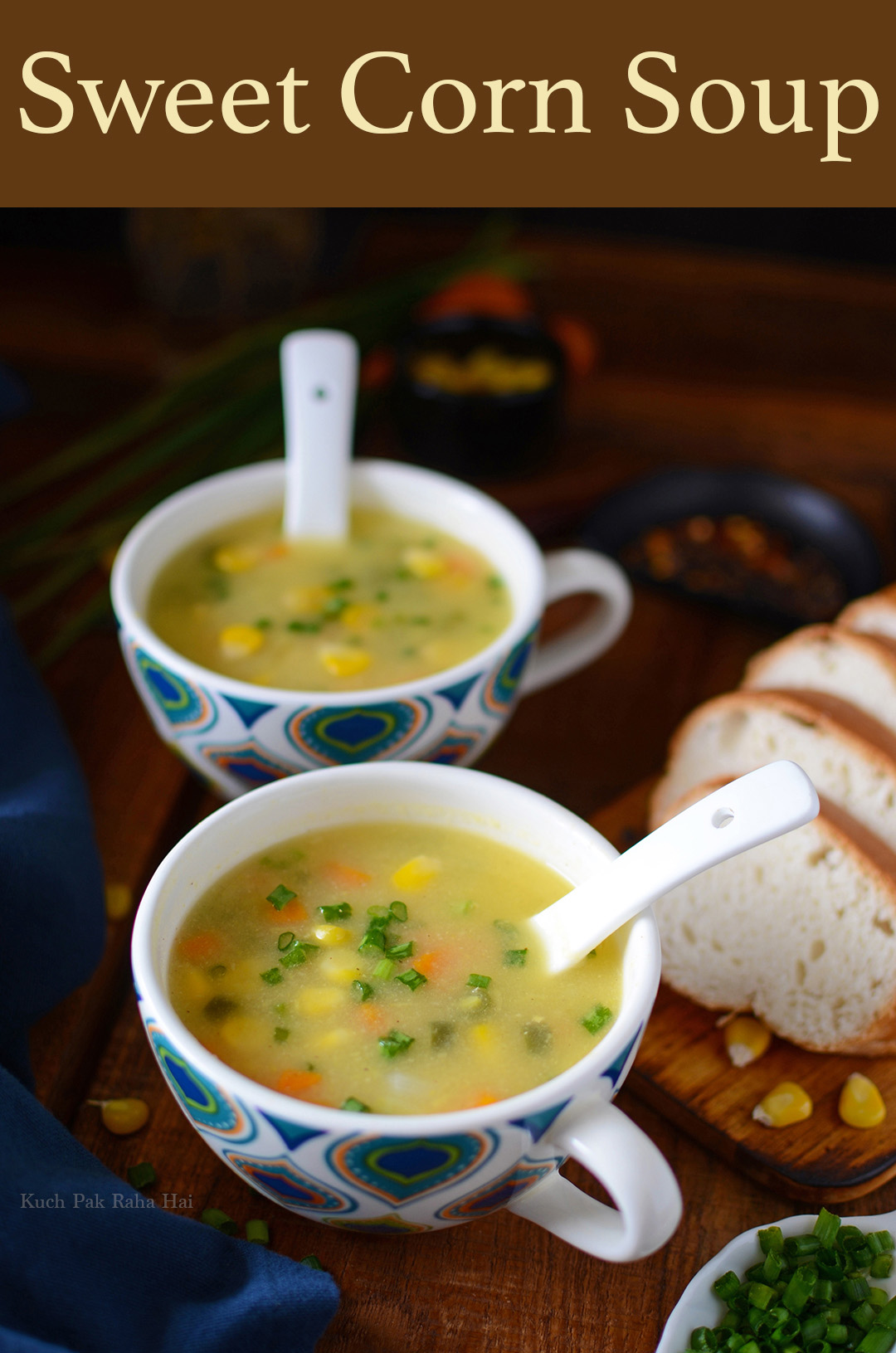 Sweet Corn Soup Recipe Restaurant Style