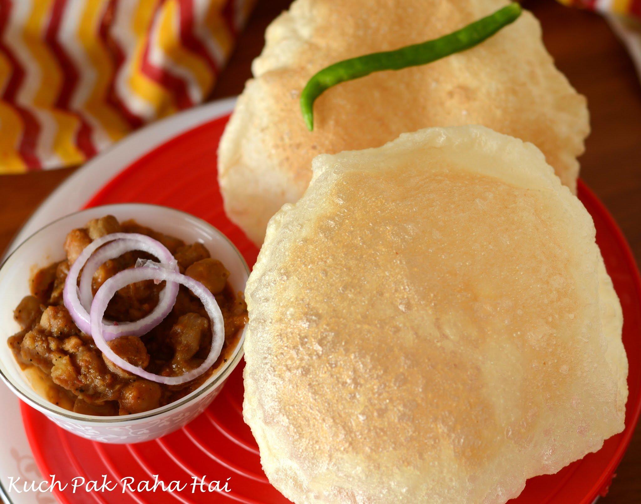 Instant Bhatura Recipe Quick Easy Bhature