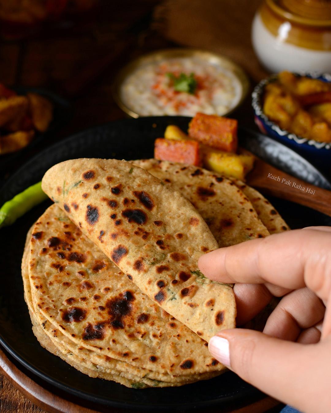 Urad Dal Paratha Recipe