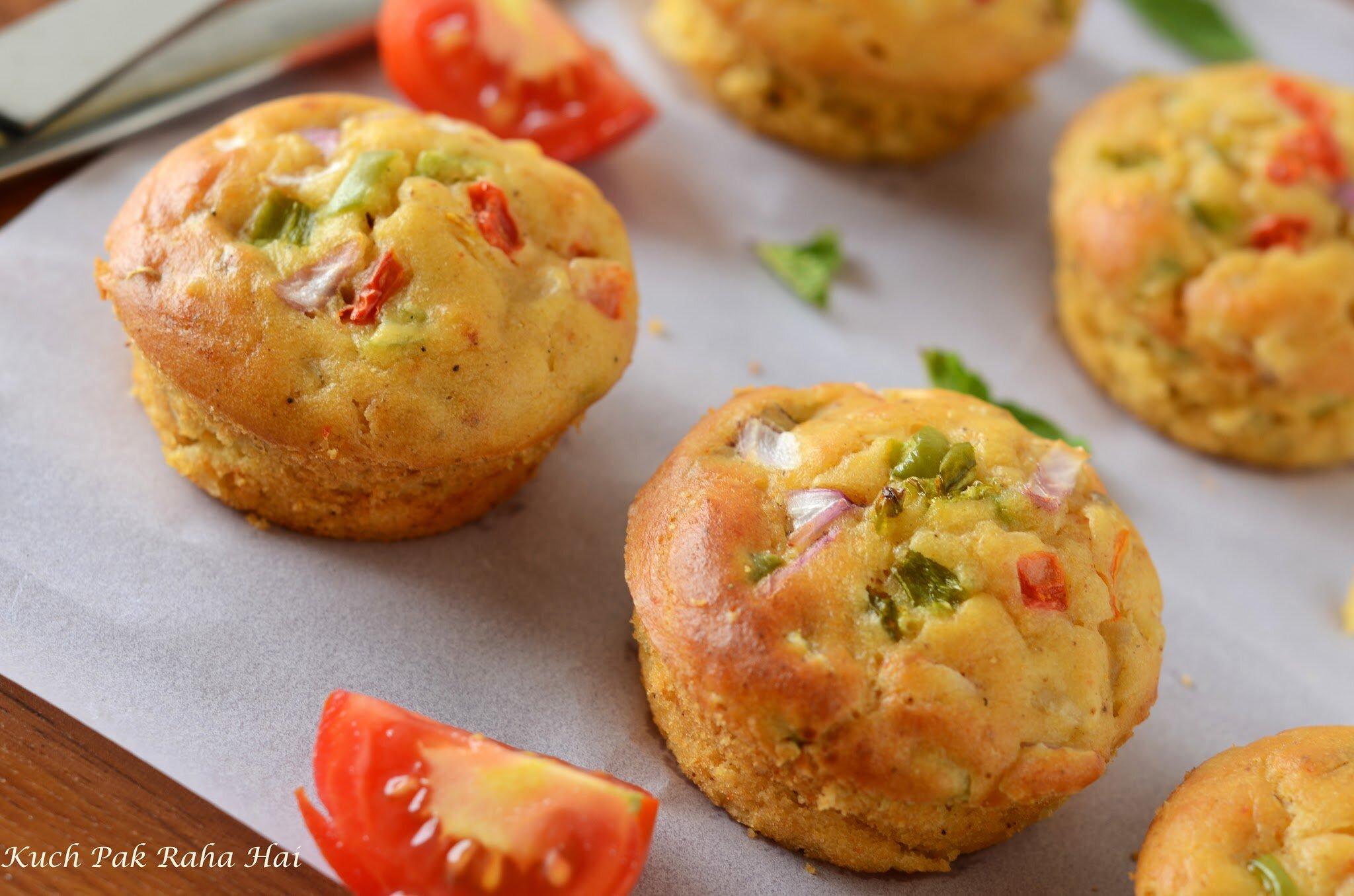 Eggless-Savoury-Breakfast-Muffins