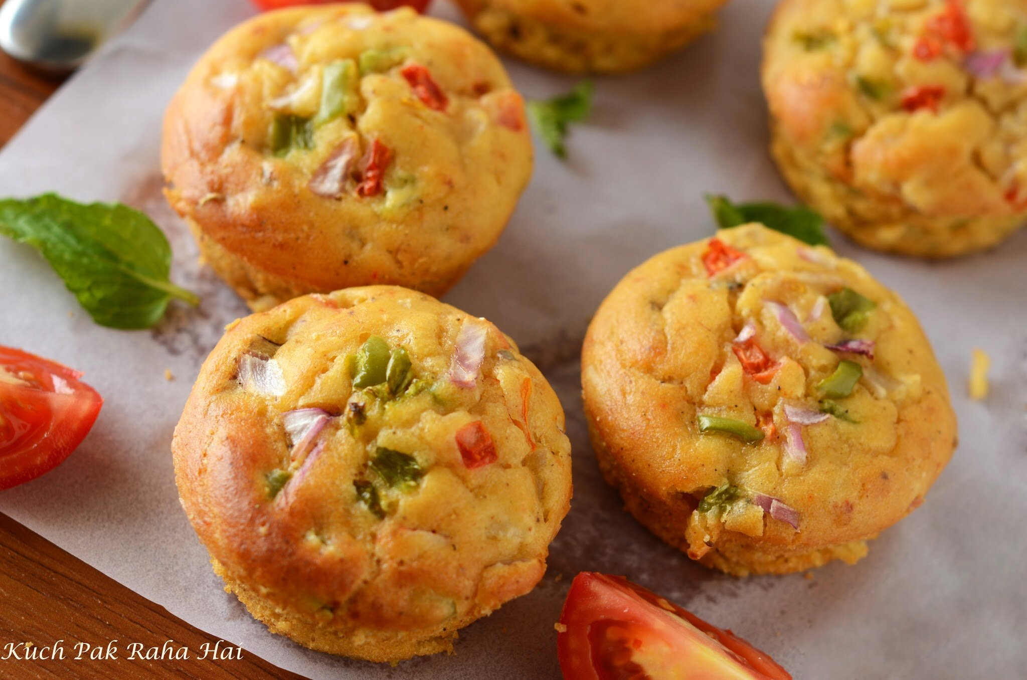 Vegetable-Muffins-without-eggs