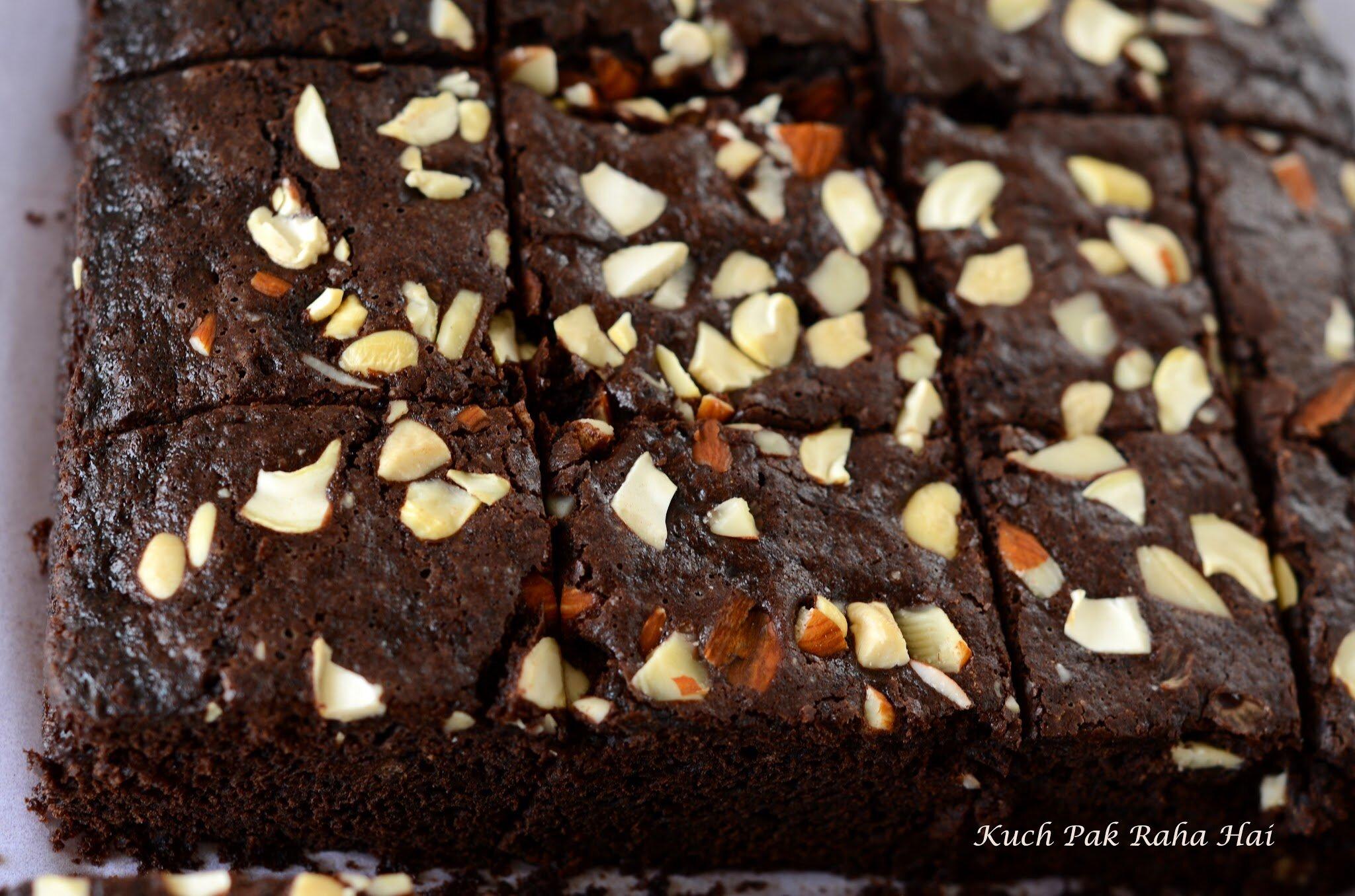 Eggless Chocolate Brownies