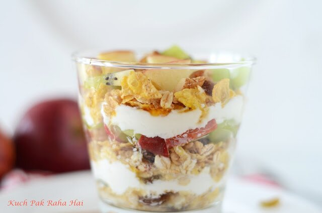 Yoghurt Fruit Parfait