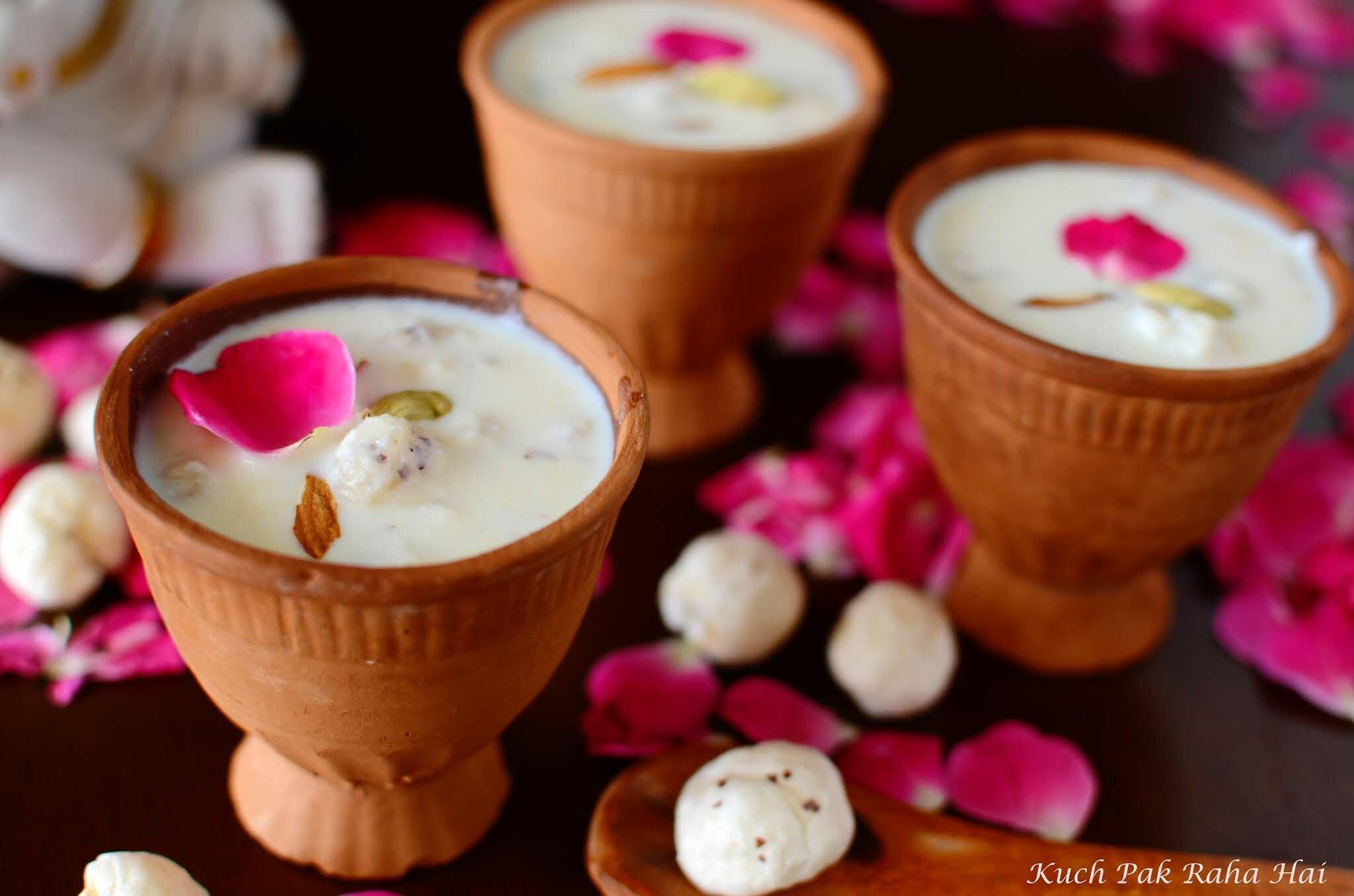 Makhana Kheer or Makhane Ki Kheer Recipe Step 6