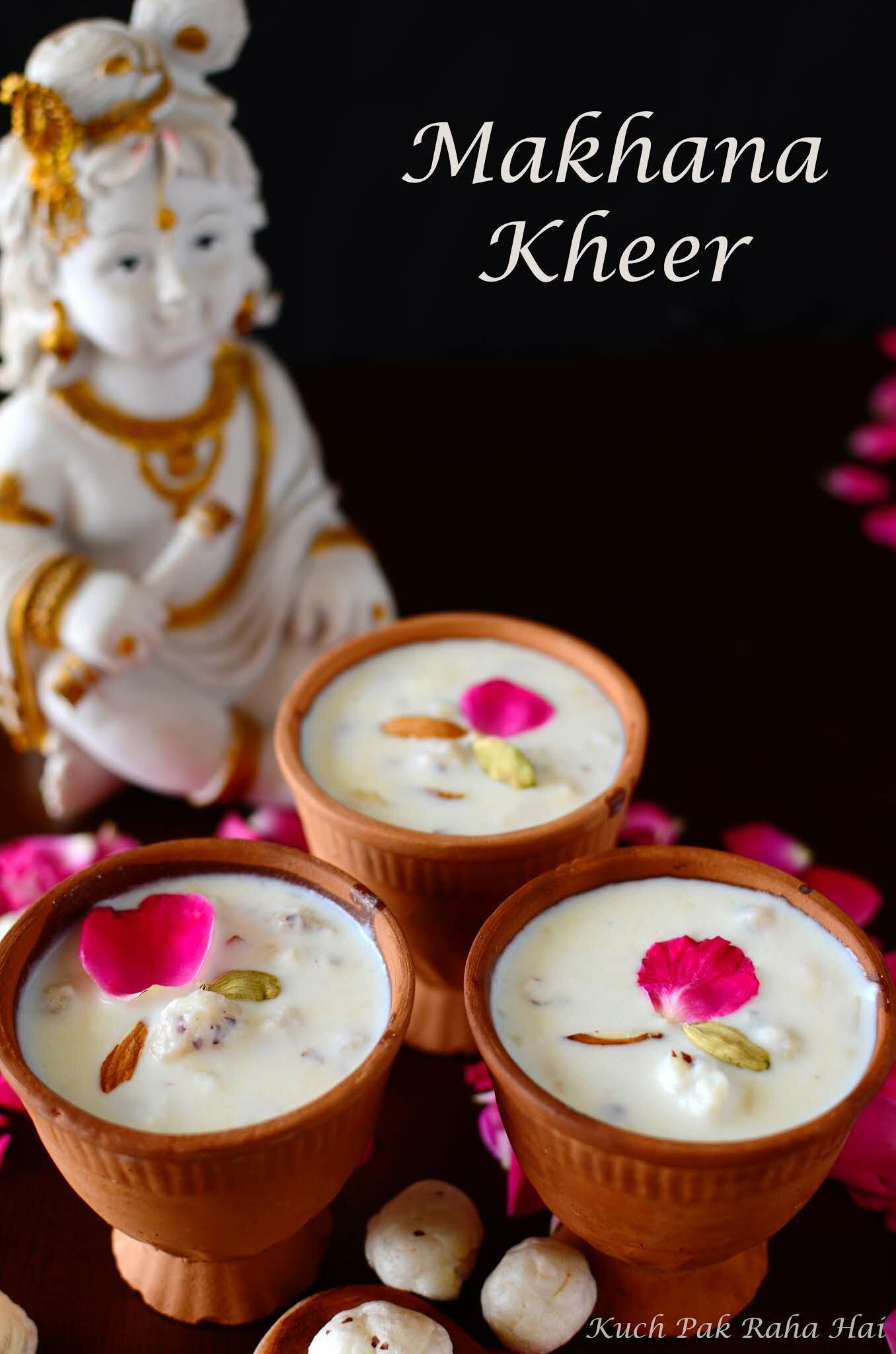 Makhana Kheer or Makhane Ki Kheer Recipe
