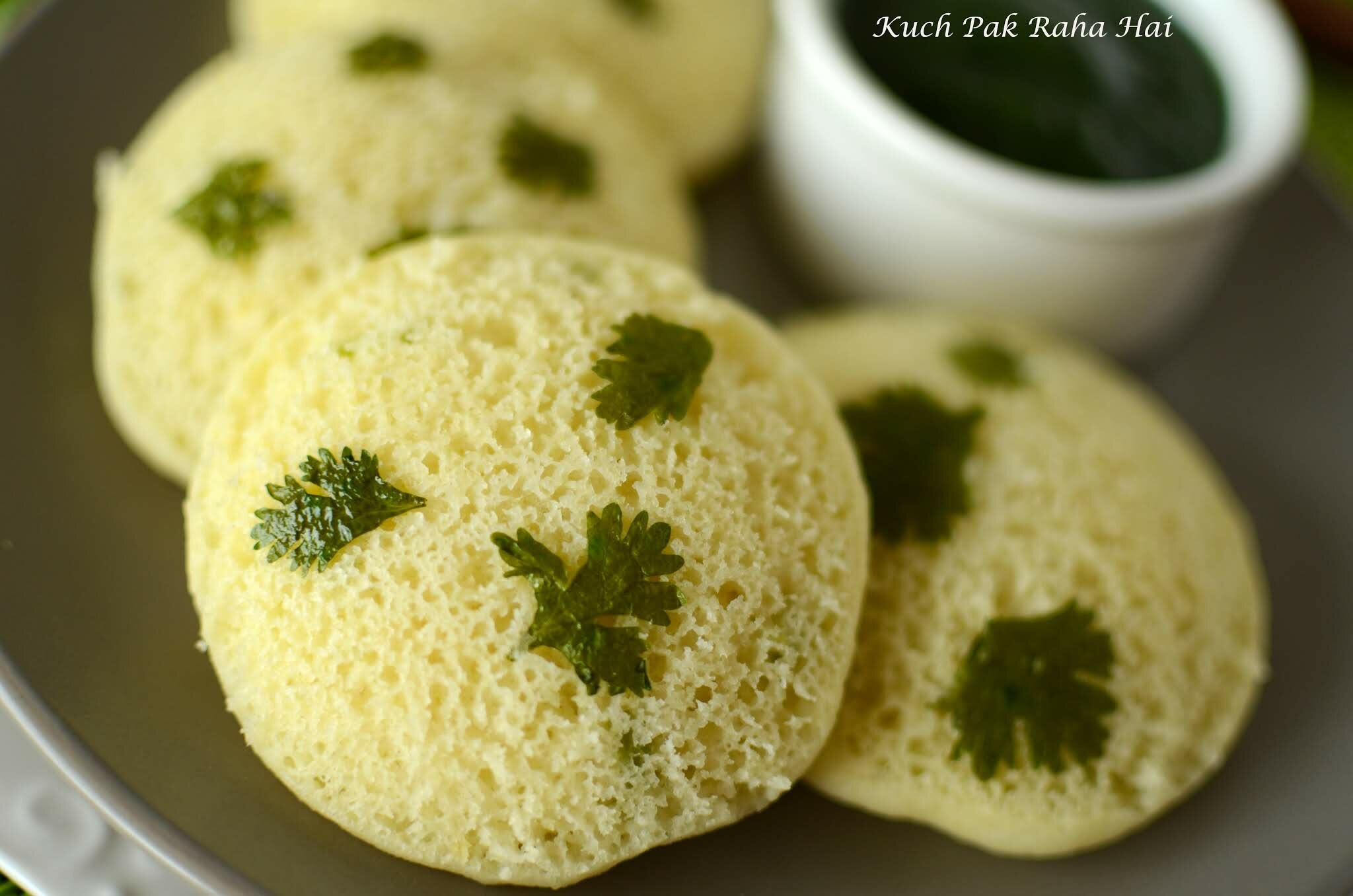 Instant moong dal idli recipe without rice & no fermentation