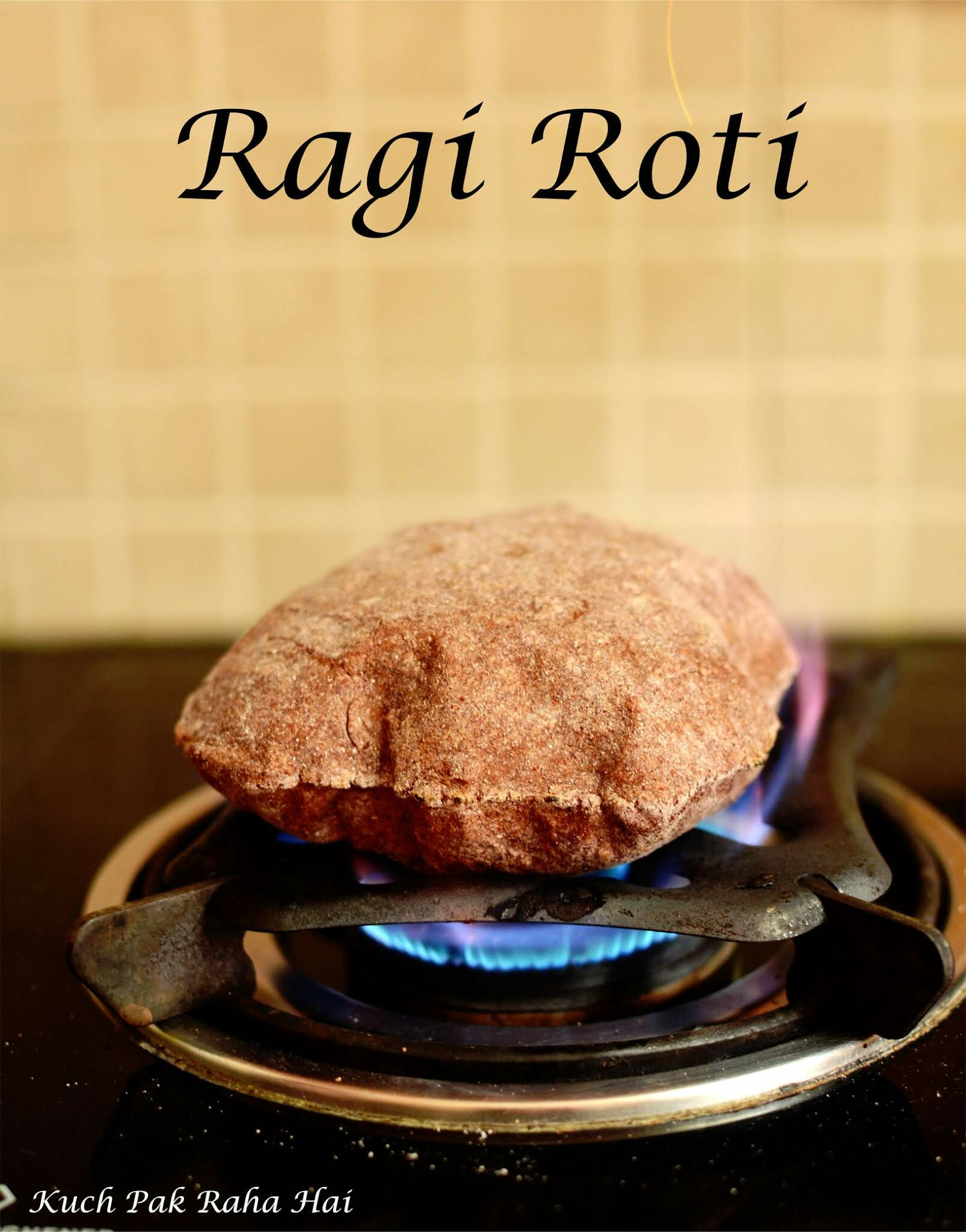 Ragi roti or nachni roti is a gluten free roti recipe