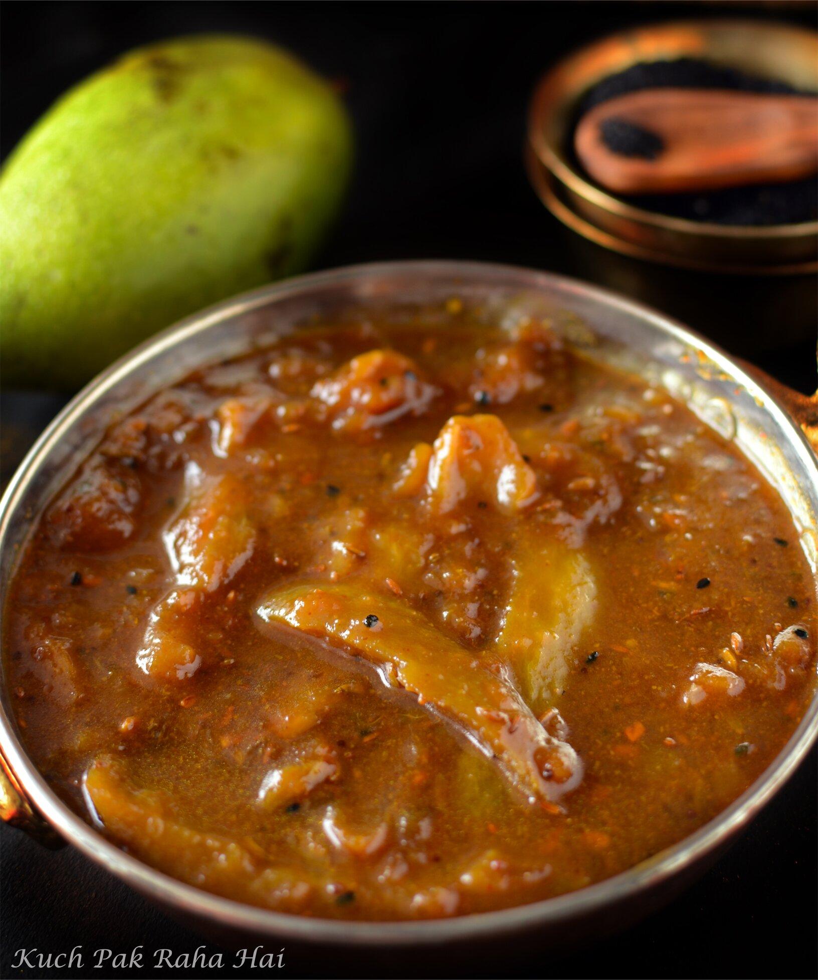 Aam Ki Launji Recipe Raw Mango Chutney