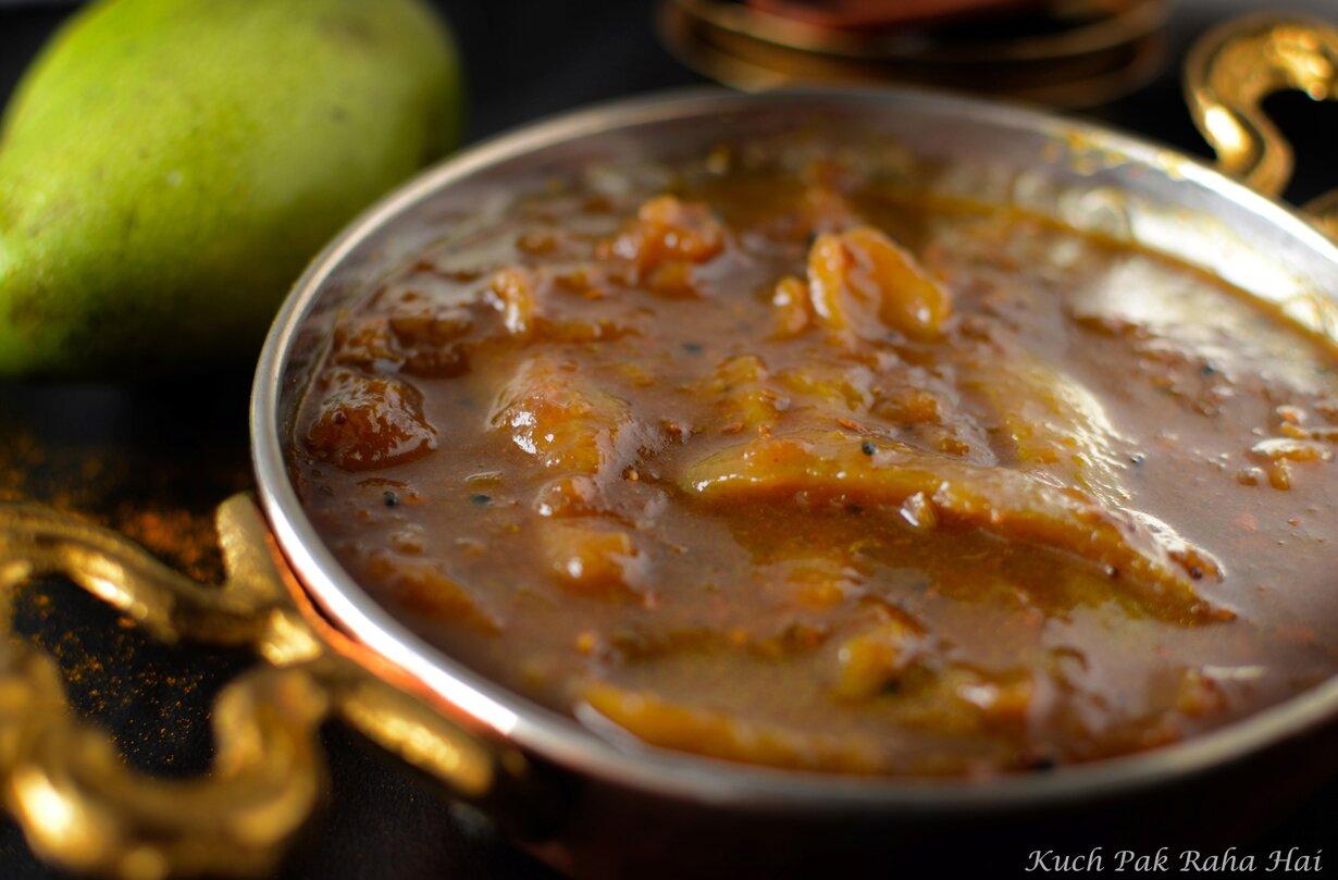 Aam Ki Launji Recipe Sweet spicy Raw Mango Chutney
