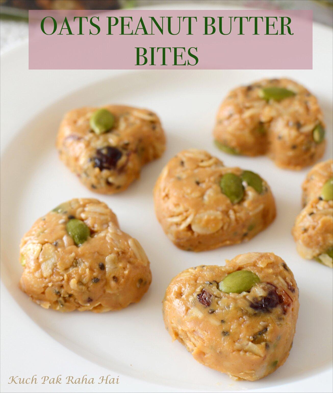No Bake Oats Peanut Butter Energy Bites Recipe