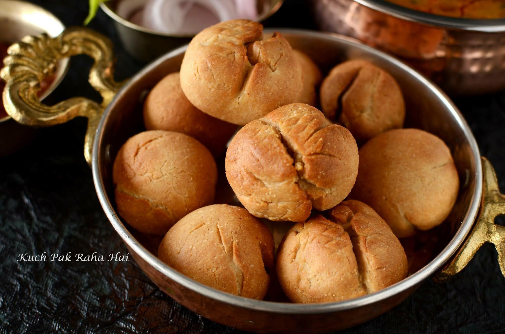 Rajasthani Dal Bati in Air Fryer