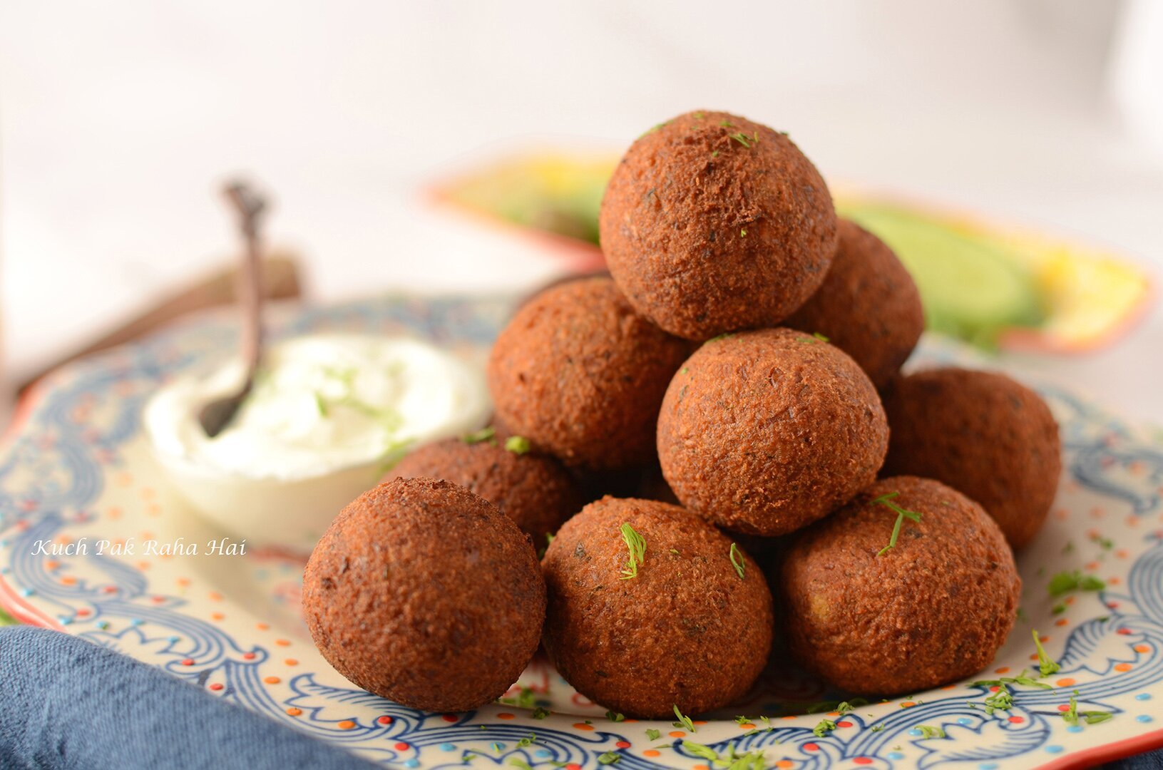 Easy Falafel Recipe using chickpeas Vegan Gluten Free Air Fryer