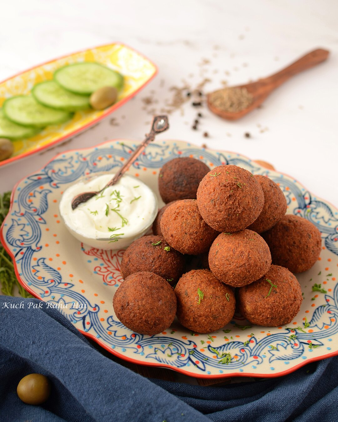Easy Falafel Recipe using chickpeas High Protein Vegan Gluten Free Air Fryer