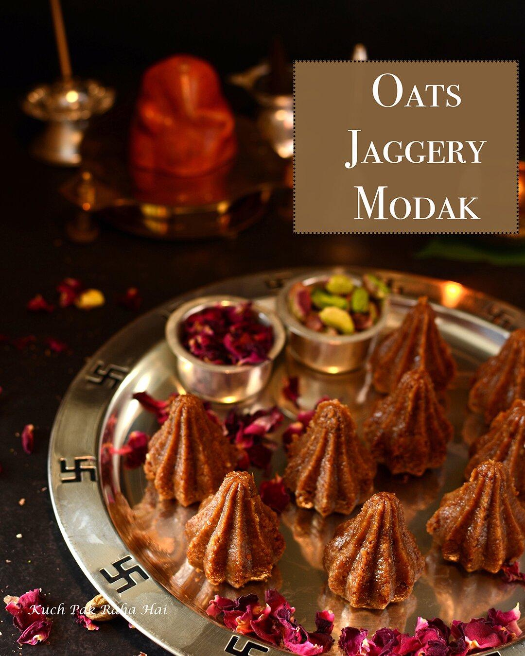 Oats Jaggery Modak Recipe Healthy Modak Ganesh Chaturthi Special