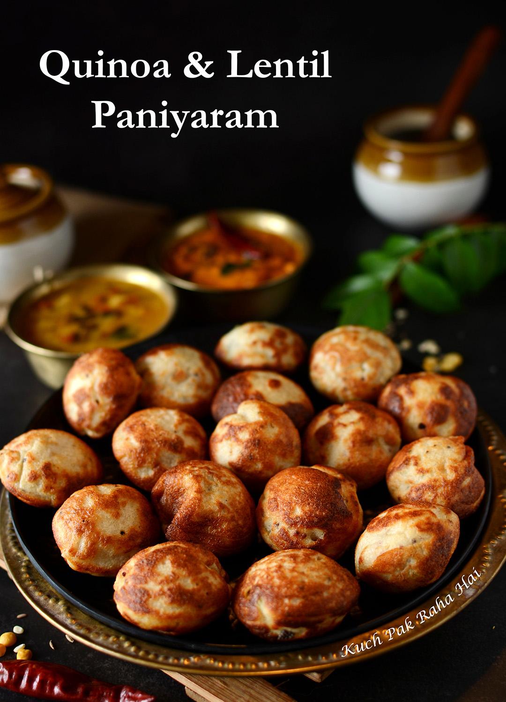 Quinoa Appe Paniyaram