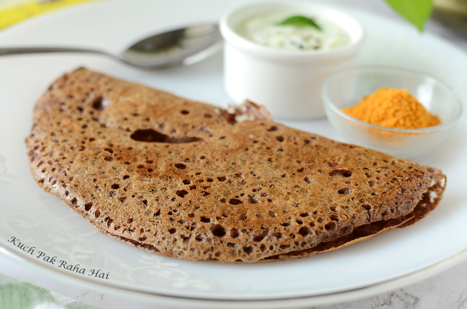 Instant Ragi Dosa Recipe without rava without Fermentation with rice flour