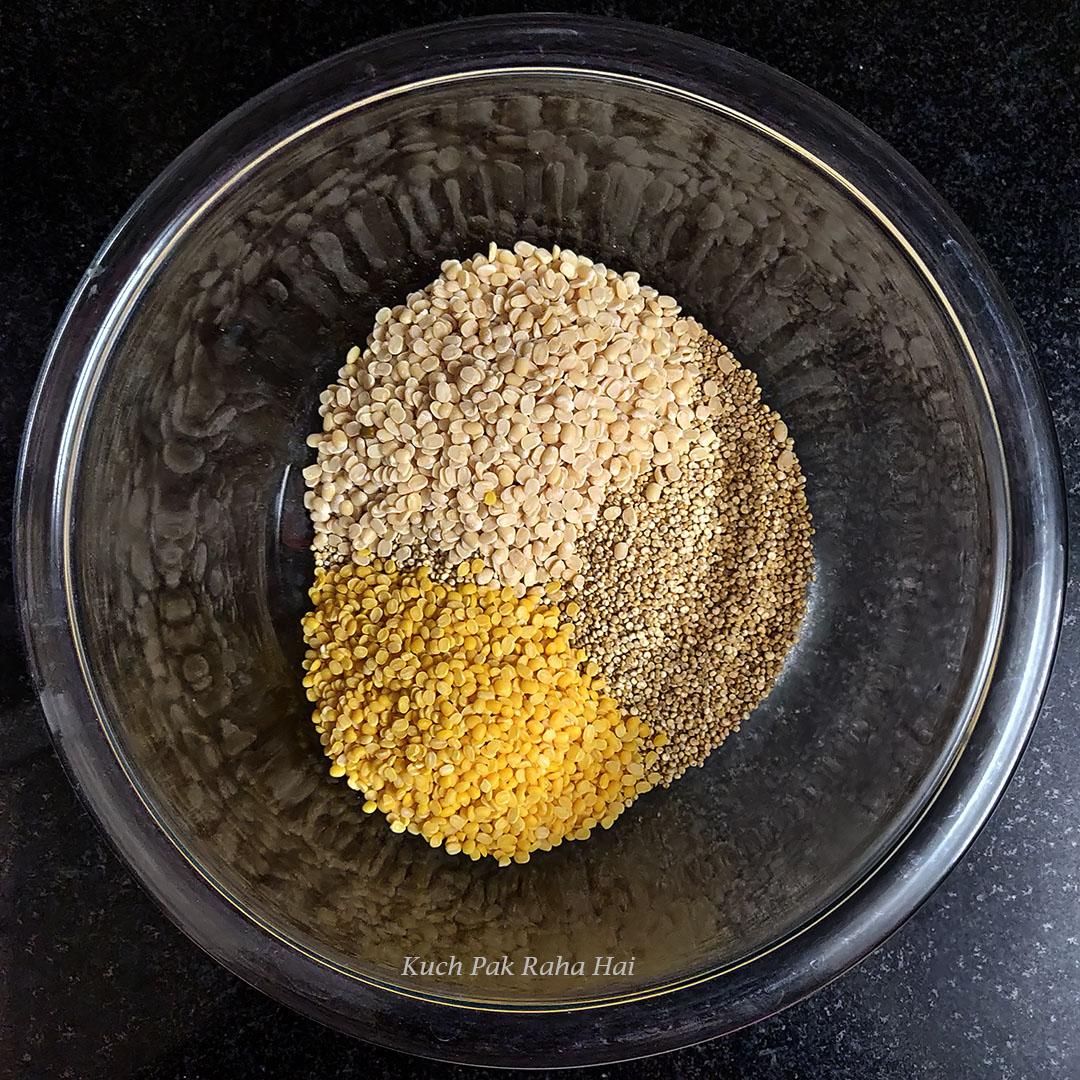 Quinoa Dosa Recipe Step 1