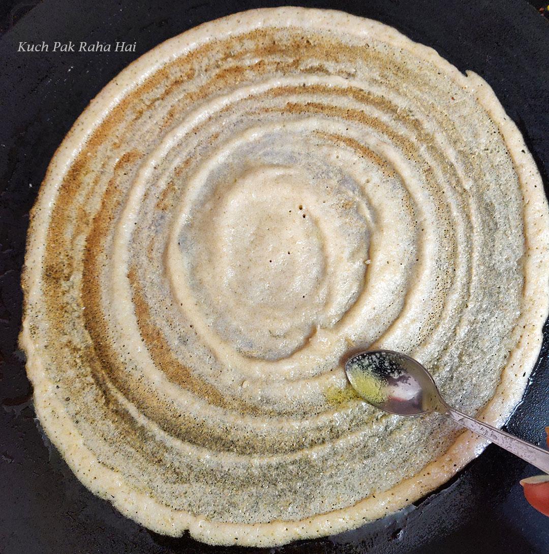 Quinoa Dosa Recipe Step 6