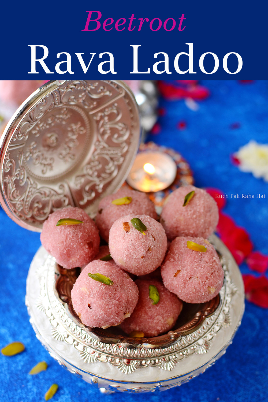 Rava-Ladoo-with-beetroot
