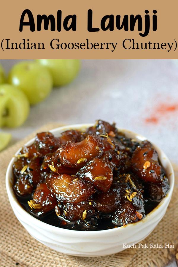 Amla Launji Indian Gooserberry Chutney vegan glutenfree