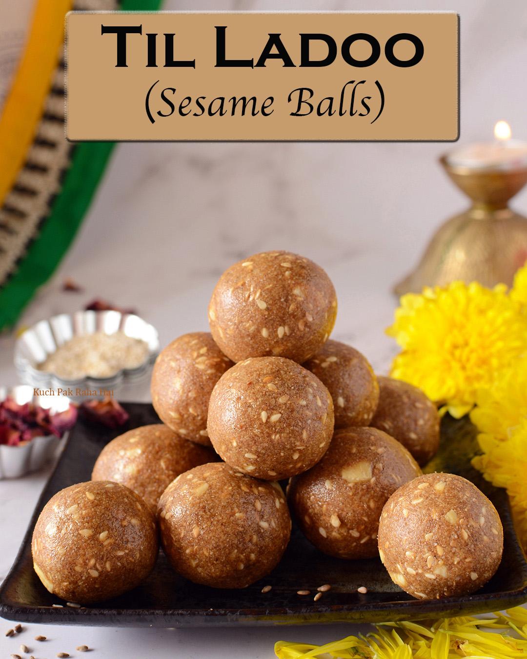 Til Ladoo Sesame Balls Recipe Gluten Free Vegan