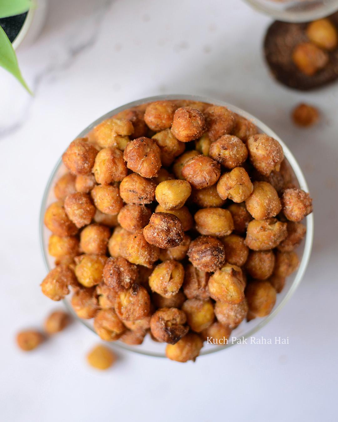 Crispy Air Fryer Chickpeas Recipe