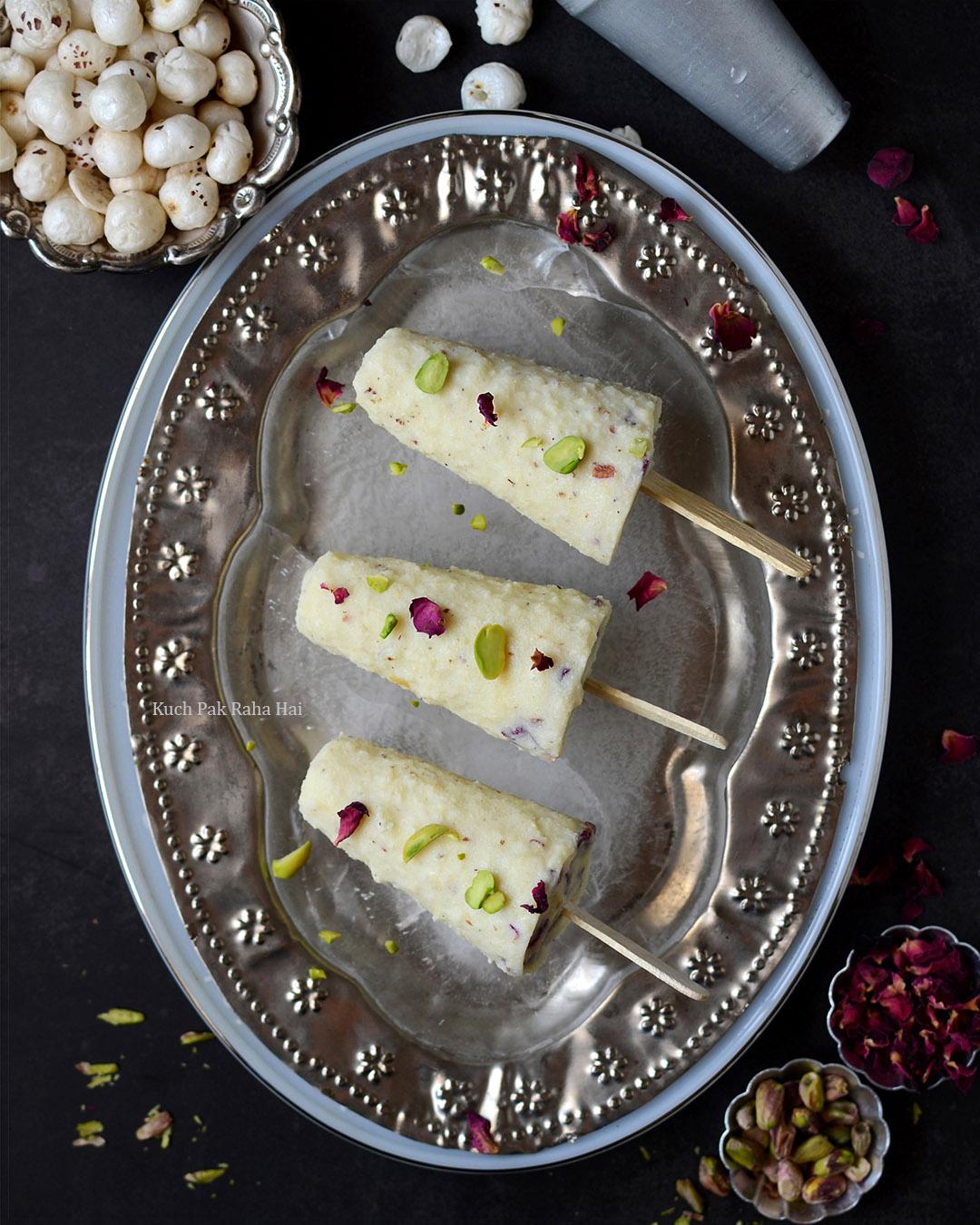 Makhana Kulfi Lotus Seeds Kulfi