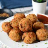 Vegetable Rice Balls In Air Fryer