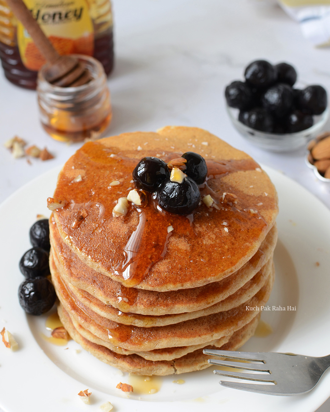 Oats Pancakes without eggs gluten free