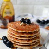 Eggless Oats Pancake Recipe