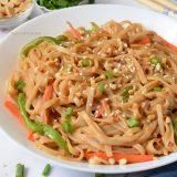 Thai Peanut Sauce Noodles