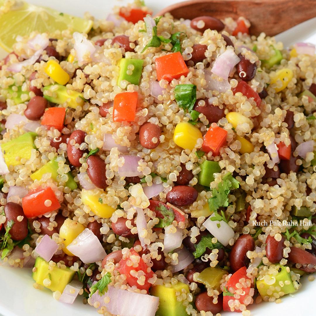 Healthy Mexican Quinoa Salad Vegan Gluten Free