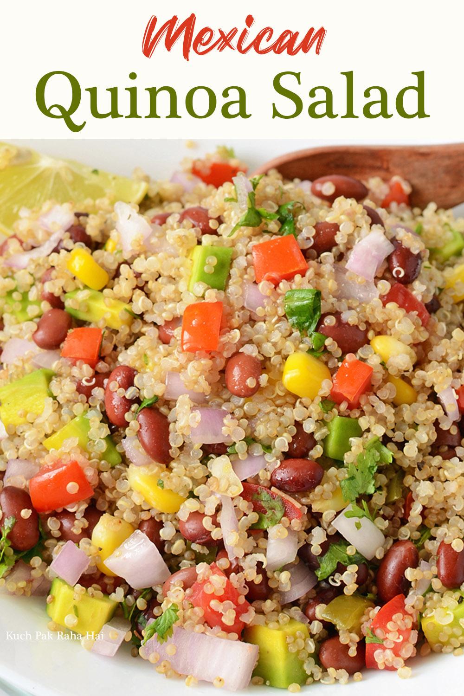 Mexican Quinoa Salad Vegan Gluten Free Healthy