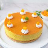 No Bake Mango Cheesecake Eggless Recipe