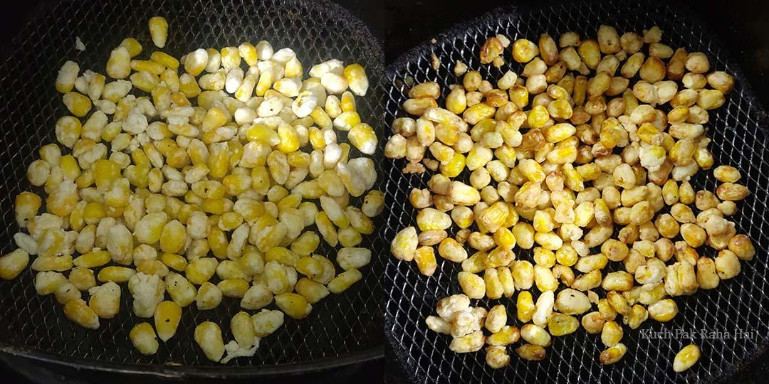 Crispy Corn in air fryer