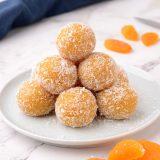 Healthy Apricot Balls Laddu Recipe